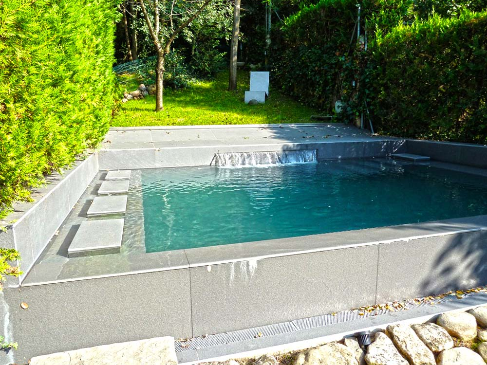 Galer a piscinas de obra - Piscinas elevadas de obra ...