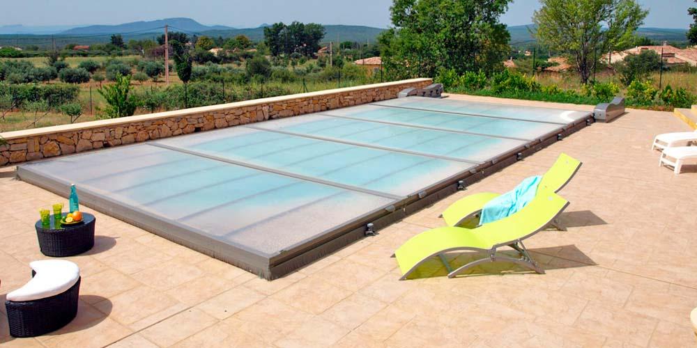 Cubiertas de piscina piscina plus for Cubre piscinas automatico precio