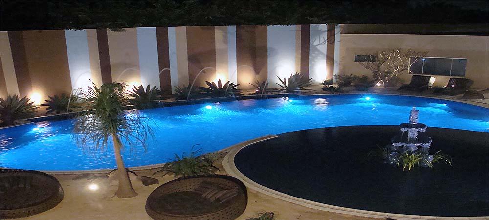 L mparas led piscina plus for Lamparas para piscinas