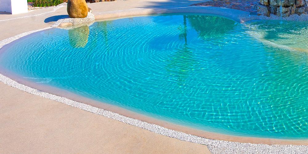 Piscinas de arena cascada piscina de arena with piscinas for Piscinas de arena